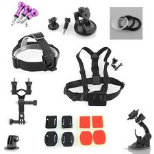 Suction Cup/Tripod Mount Aluminum for Gopro Hero 1 2 3 Outdoor Camera Cam