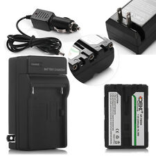 NP-FM500H NPFM500H Battery + Charger For Sony Alpha SLT A57 A58 A65 A77 A99 A550