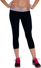 Fitness Clothing, Black SUPPLEX Women's Yoga Pants Comfortable Fit By Sara Crave