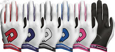 DeMarini Superlight YOUTH Kids Baseball Softball Batting Gloves Pair WTA6150 NEW