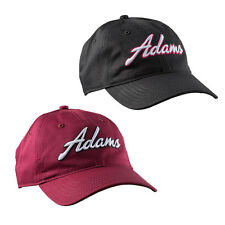 New Adams Golf Structured Adjustable Players Hat 3-D embroidered Logo