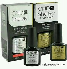 CND Shellac Top Coat, Base coat and Duo .25oz - Best Price