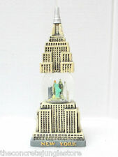 "New York Souvenir Snow Globe, Empire State Building Replica Snow Globe 7"" tall"