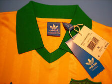 Brazil Authentic Adidas Originals Retro Jersey #10 SIZE S,M,L&XL NEW WITH TAGS