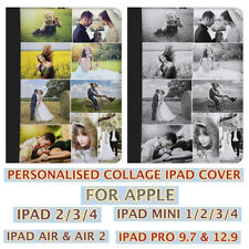 COLLAGE LEATHER PERSONALISED IPAD CASE IPAD AIR/AIR 2 IPAD 2/3/4 IPAD MINI