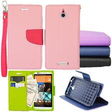 For HTC Desire 512  Preimum Wallet Pouch Cover Case PU Leather Stand