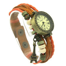 Fancy Fashion Quartz Leatheroid & Woven Cable Watches