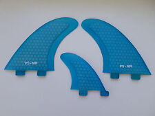 MR TWIN FIN + trailer PERFORMANCE CORE surfboard fibreglass (set x 3) FCS compat