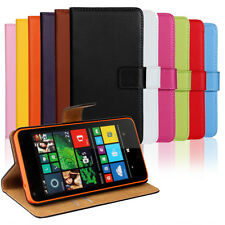Flip Leather Wallet cellphone Case Cover skin Card Holder Stand For Nokia Huawei