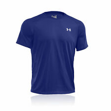 Under Armour Tech Mens Blue Lightweight Short Sleeve Gym Running T-Shirt New