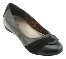 CLARKS Womens Bendables Poem Queen Leather Flats Multiple Sizes