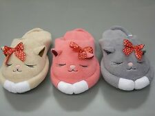 New Women's Cozy and Adorable Scuffs Cat Slippers