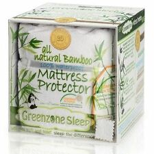 Bamboo Rayon Classic Design Terry Mattress  Protector