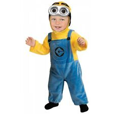 Minion Yellow Costume Baby Despicable Me Halloween Fancy Dress