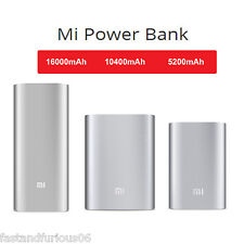Universal Xiaomi MI USB Power Bank Battery Charger 5200/10400/16000mAh For Phone