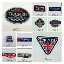 New Motorcycles Sew Iron On Patch Motor Sport Racing Embroidered Logo Badge Bike