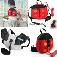 Cute Bag Harness Strap Baby Keeper Toddler Safety Rein Ladybird Backpack Colors