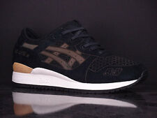 ASICS Onitsuka Tiger Gel-Lyte III LC Black Gold New Laser Cut H5E3L 9090