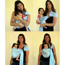 Baby Carrier Ring Sling Wrap Comfort Pouch Wrap Backpack For Newborn Toddler