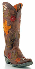 Old Gringo Women's Ginger L1114-1 , Boot  Vesuvio Brass/Green