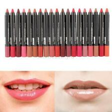 19 Colors Beauty Cosmetic Makeup Lip Pencil Lipstick Lip Gloss Lip Stick Pen U79