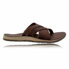 Teva Ladera Slide Mens Brown Outdoors Water Resistant Walking Sandals Flip Flops