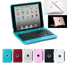 Foldable Bluetooth Rechargeable Keyboard Stand Case Cover For iPad Mini 1 2 3 4