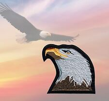 PROUD EAGLE - FREE SPIRIT PATCH, BIKER BADGE - REBEL CRUISER ART - RARE!