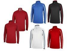 Adidas Mens Climalite Coaches 1/4 Zip Performance Pullover Jacket
