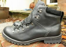 NEW COLE HAAN SAWYER ALPINE Waterproof BLACK Leather Boots US9.5 FREESHIP C09995