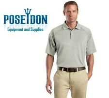 NEW Cornerstone Select Snag-Proof Tactical Performance Polo Shirt - LIGHT GREY