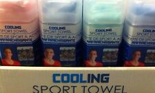 Cooling Sport Towel - Instant Cooling Relief Activate w/Water Machine-washable