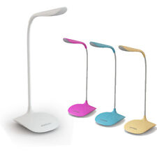 New Adjustable USB Rechargeable Touch Switch LED Desk Table Lamp Reading Light