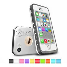 Waterproof Shockproof Fingerprint Scanner Touch ID Case Cover for IPhone 5 5S