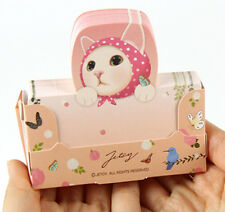 HIMORI Choo Choo Pop Memo - Cute Cat Standing Memo Pad - Pick 1 from 10 Types
