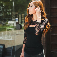 Casual blusas Women Blouses Clothing roupas femininas Plus Size Lace shirt women