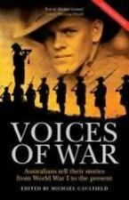 NEW Voices of War by Michael Caulfield Paperback Book (English) Free Shipping