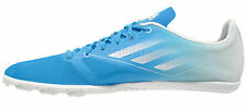 New Adidas Adizero Ambition Mens Track Spikes Blue Mid Distance Running Shoes