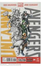 UNCANNY AVENGERS #1 (2012) VARIANT COVER~Marvel NOW (AVENGERS AGE OF ULTRON SALE