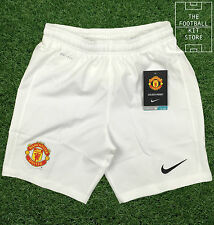 Manchester United Home Shorts - Genuine Nike Man Utd Football Shorts- Boys Sizes