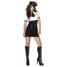 Pilot Costume Adult Sexy Airline Halloween Fancy Dress