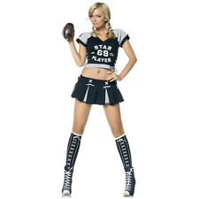 Football Player Costume Adult Sexy Halloween Fancy Dress