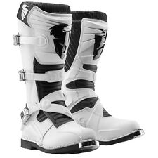 THOR Ratchet Motocross Boots (White) Choose Size