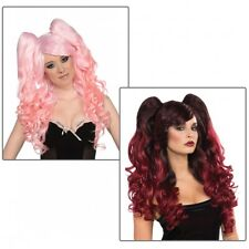 Ponies Set Long Wig Costume Accessory Adult Halloween