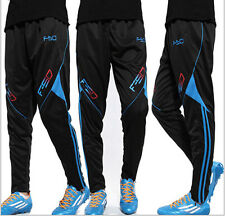 6717 Men's Football Soccer Training Pants Fit Sweat Sport Gym Athletic Trousers