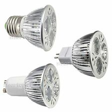 CE&RoHS Dimmable 9W LED E27 GU10 MR16 3*3W Cool Warm White Spot Bulb Lamp Light