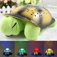 2015 Hot Sale The turtle sky projection night light stars lamp musical Sleep NEW