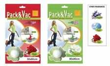 Small/Large Vacuum Scented Plastic Space Saver Bags Compressed Vaccum Pack Vac
