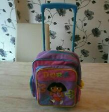 DORA THE EXPLORER WELCOME HOUSE EXTENSION PLASTIC WARDROBE TROLLEY SUITCASE