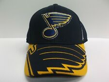 St Louis Blues Reebok 2015 Official NHL Draft Cap Stretch Fit Fitted Hat